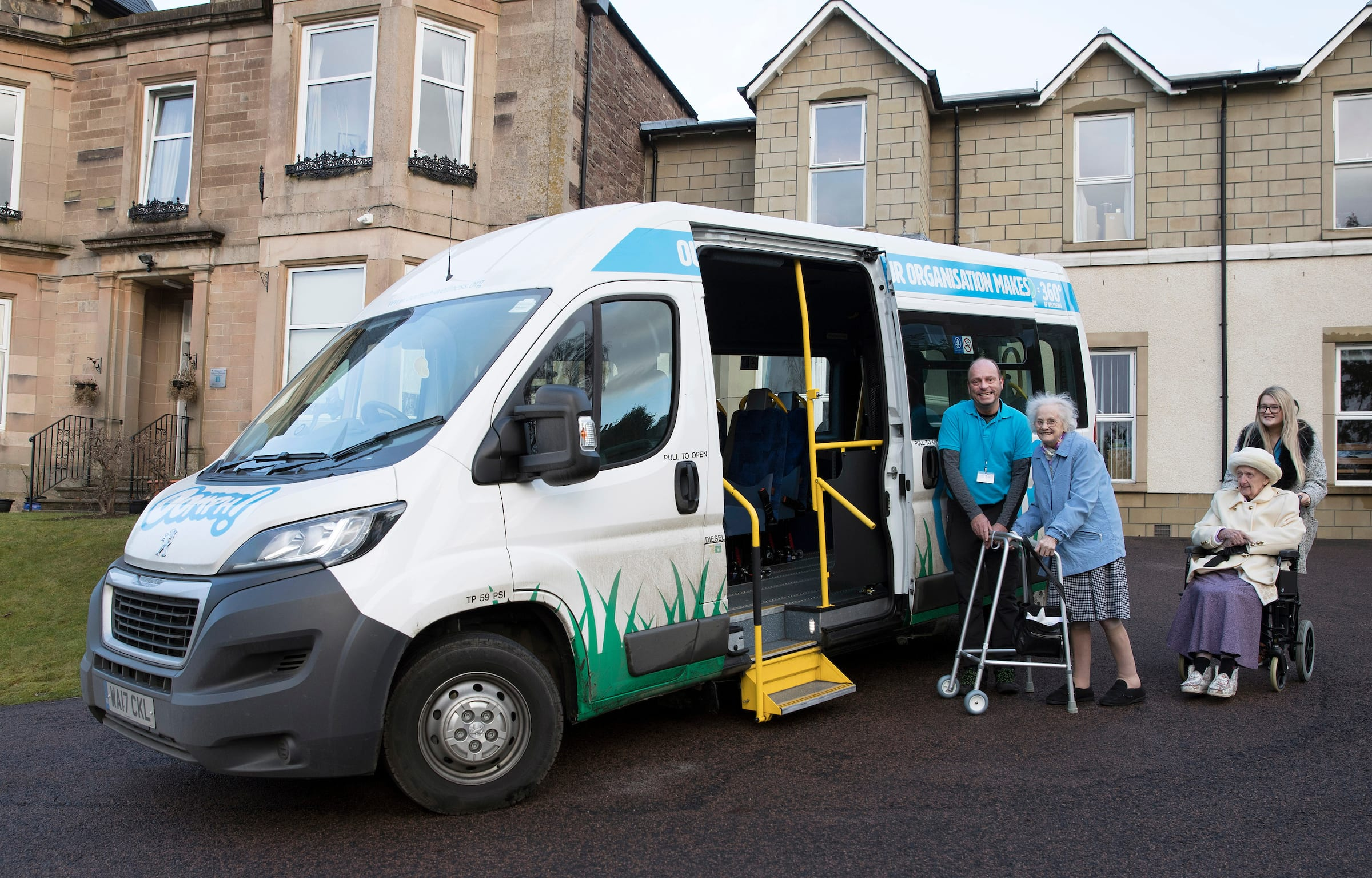 Balhousie puts some Oomph! into its care homes with innovative partnership