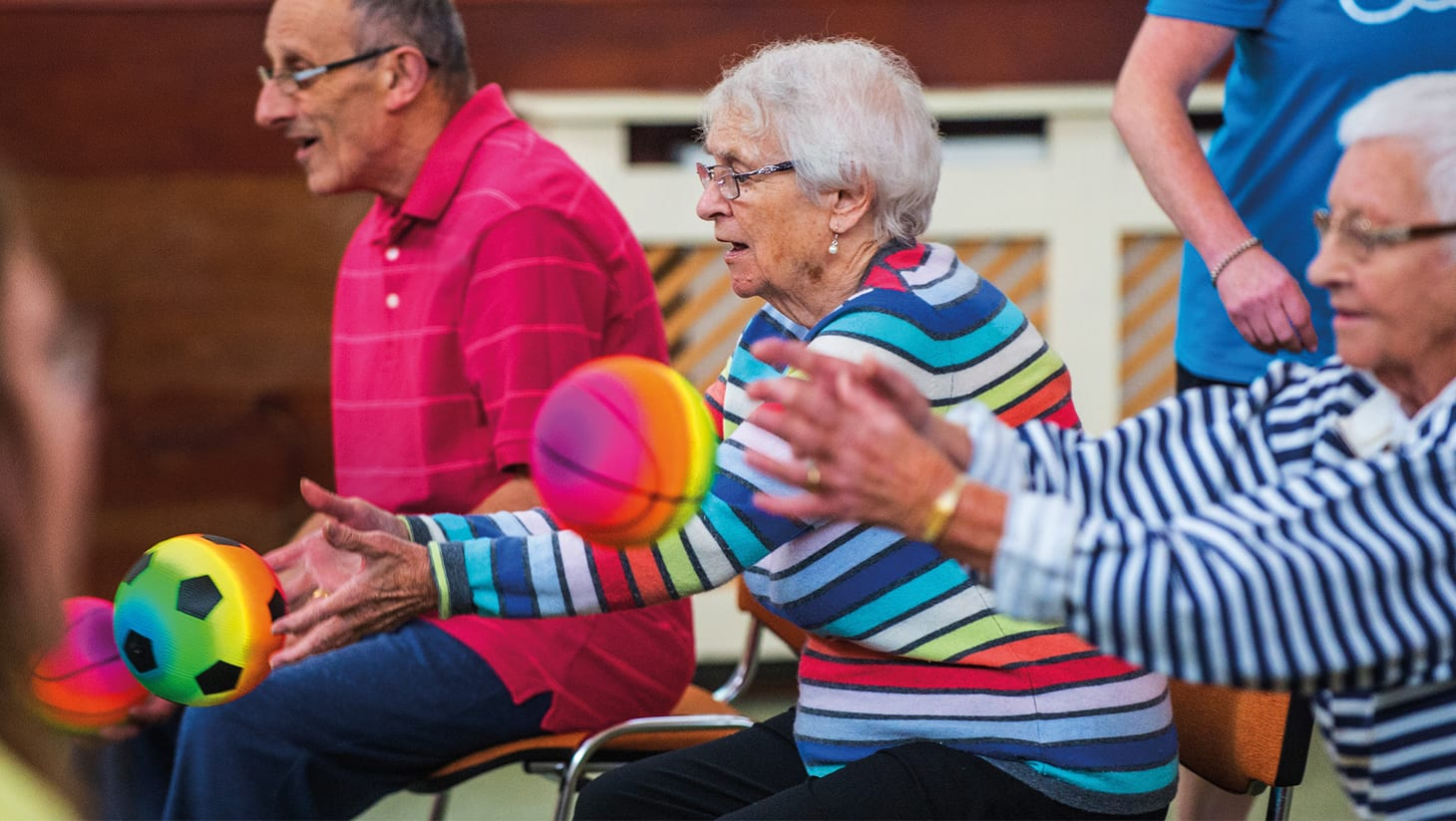 Mayflower care homes given some Oomph! with new wellbeing partnership!