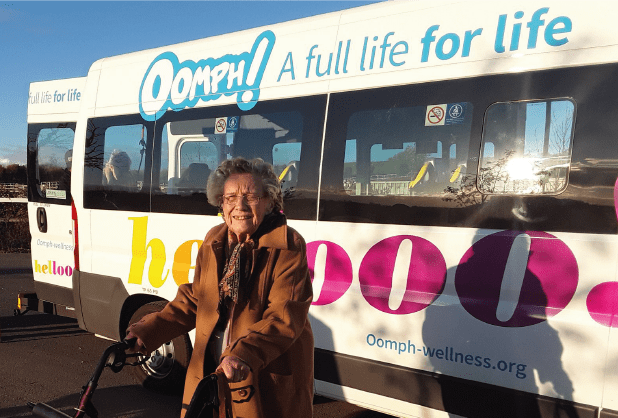 Somerset Care gets out and about with Oomph!