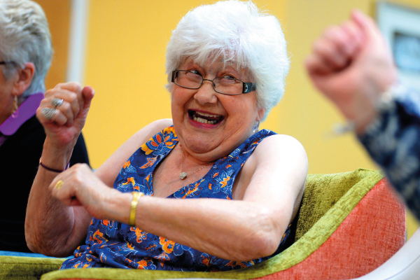 Partnership with Arthritis Action to improve strength, balance and co-ordination