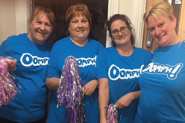 Country Court Care gets some Oomph! for their residents!