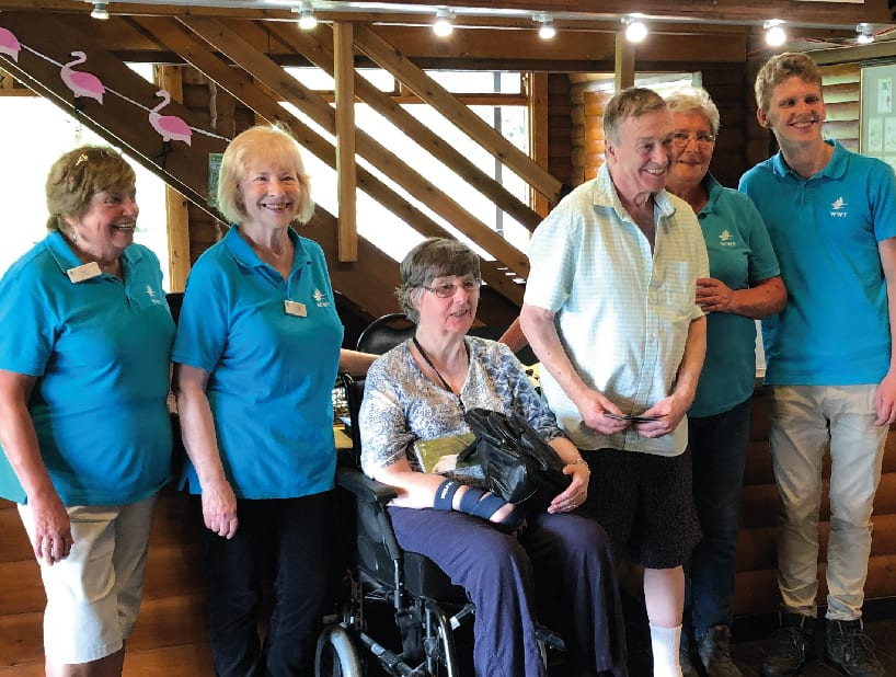 Resident Wish To Revisit Beloved Wetland Centre Comes True