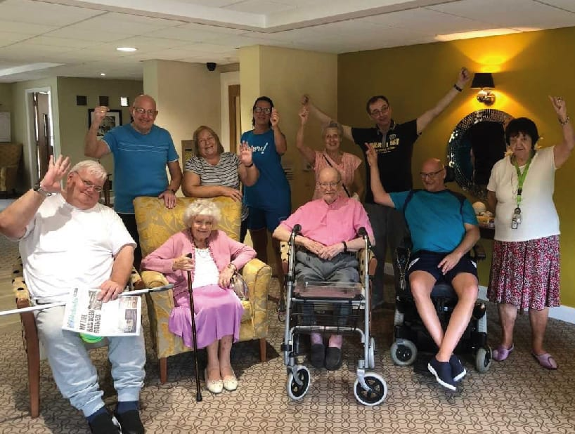 Outstanding Oomphers! at Cherry Tree Court