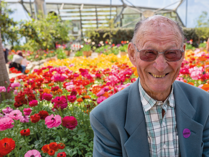 Care home residents focusing on the positives with new way to stay connected with loved ones…