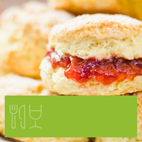 Simple Scones for VE Day